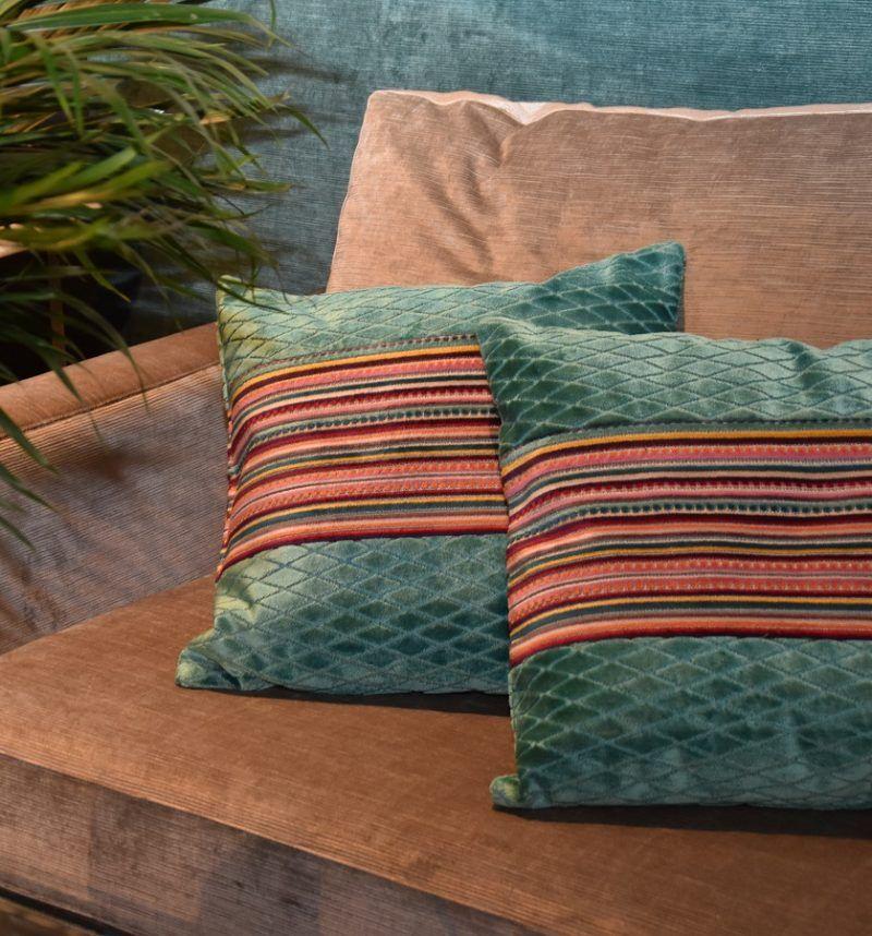 Sofa con tela Vane gris